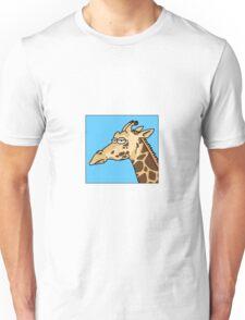 Giraffe is not amused Unisex T-Shirt