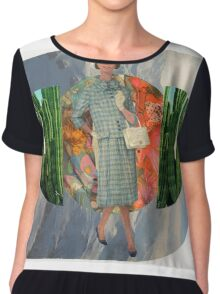 Well Travelled Woman Chiffon Top