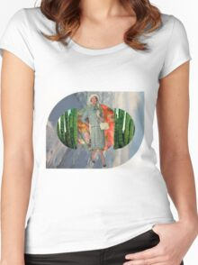 Well Travelled Woman Women's Fitted Scoop T-Shirt