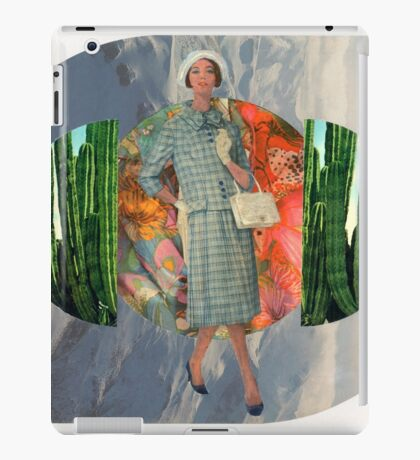 Well Travelled Woman iPad Case/Skin
