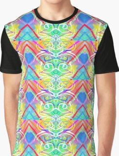 Abstract Symmetry Graphic T-Shirt