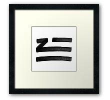 ZHU Framed Print