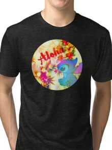 Little Aloha Tri-blend T-Shirt