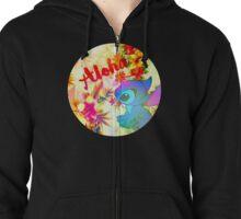 Little Aloha Zipped Hoodie