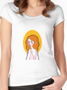 Natasha Romanov ballerina  Women's Fitted Scoop T-Shirt