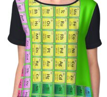 118 Element Periodic Table Chiffon Top