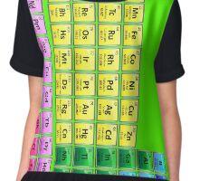 118 Element Periodic Table Chiffon Top