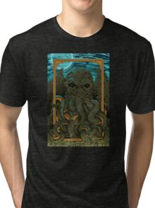 Answering the Call of Cthulhu Tri-blend T-Shirt