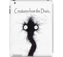 the creatures from the drain 6 iPad Case/Skin