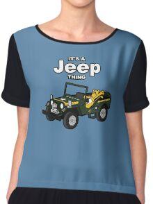 It's a Jeep Thing! Chiffon Top