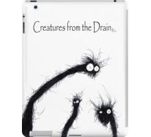 the creatures from the drain 7 iPad Case/Skin