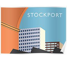 STOCKPORT - Regent House, Beckwith House Poster
