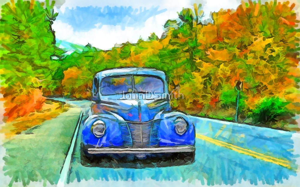 Painted Drive by JohnDSmith