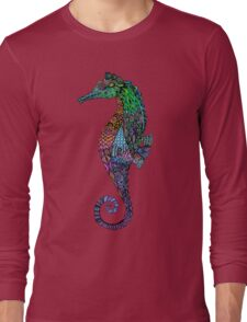 Mr. Electric Seahorse Long Sleeve T-Shirt