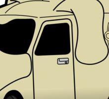 Mutt Cutts Van Sticker