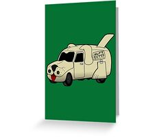 Mutt Cutts Van Greeting Card