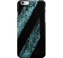 Black and Blue Shadow Stripe iPhone Case/Skin