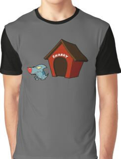 Sharky The Sharkdog Graphic T-Shirt