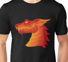 Friendly Dragon Head Unisex T-Shirt