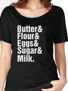 Baker Cake Decorator - Beatles Parody Women's Relaxed Fit T-Shirt