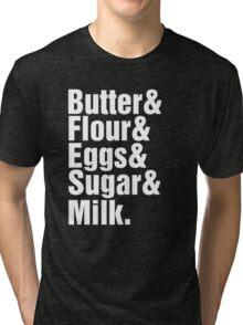 Baker Cake Decorator - Beatles Parody Tri-blend T-Shirt