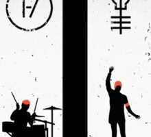 twenty one pilots Sticker