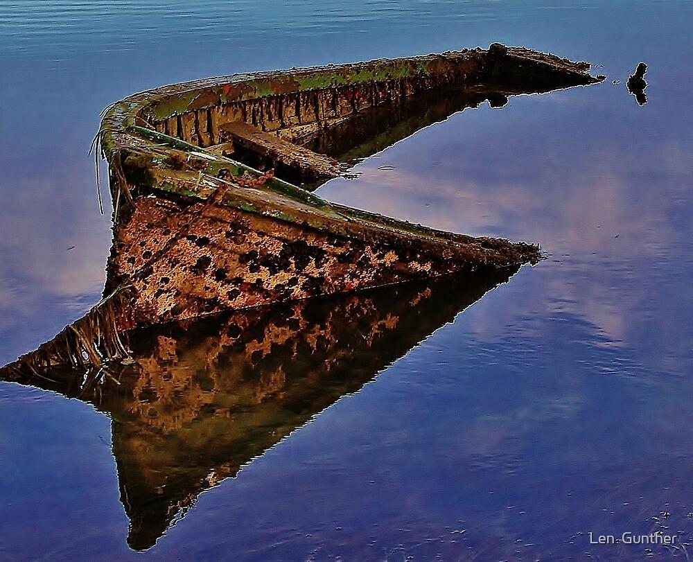 Sunken treasure? by Len  Gunther