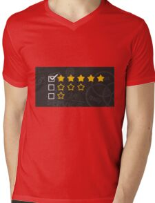 Personal Review Mens V-Neck T-Shirt