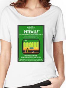 Pixel Pitfall! Women's Relaxed Fit T-Shirt
