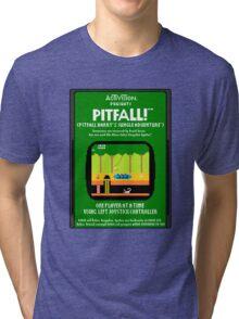 Pixel Pitfall! Tri-blend T-Shirt