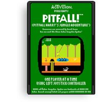 Pixel Pitfall! Canvas Print