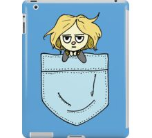 Pocket Girl iPad Case/Skin