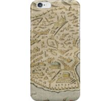 Vintage Pictorial Map of Constantinople (1620) iPhone Case/Skin