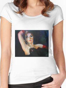 Tonight I Dance Women's Fitted Scoop T-Shirt
