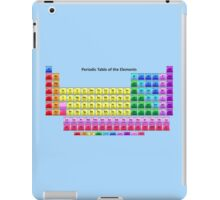 Shiny Periodic Table of the Chemical Elements iPad Case/Skin