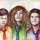 Workaholics Portrait: Anders, Blake, Adam by OlechkaDesign