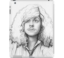 Blake Anderson Workaholics Portrait Art Drawing iPad Case/Skin