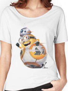 Minion Robot Women's Relaxed Fit T-Shirt