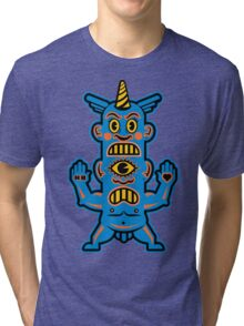 Blue Demon - Love & Hate Tri-blend T-Shirt