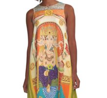 Ganesha - Remover of Obstacles A-Line Dress