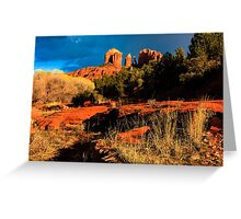 Cathedral Rock Arizona Greeting Card
