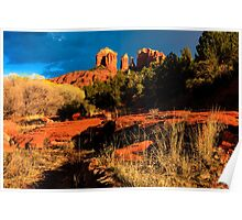 Cathedral Rock Arizona Poster