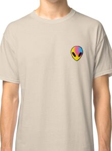 yellow, pink, and blue alien Classic T-Shirt
