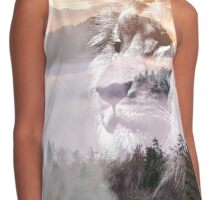 Sunset Lion Contrast Tank