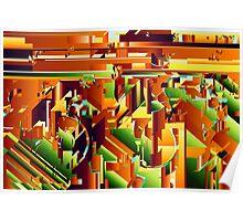 Alien City Puzzle 5 Poster