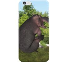 Cannonball Hippo iPhone Case/Skin