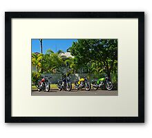 Laverdas of the 1970's - 2 3c's an SFC and a Mirage Framed Print