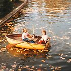 Autumn on the water  by sharon wingard