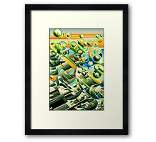 Alien City Spheres 2 Framed Print