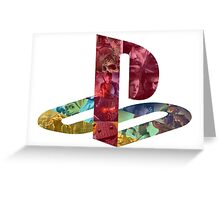 PS Logo of Games Greeting Card